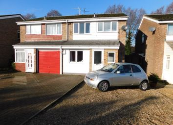 Thumbnail 4 bed semi-detached house for sale in Edgecomb Road, Stowmarket
