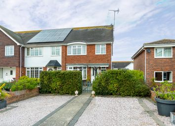 Thumbnail 3 bed end terrace house for sale in Fairlands, East Preston, Littlehampton