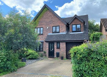 Thumbnail 4 bed detached house for sale in Pevensey Way, Frimley, Camberley, Surrey