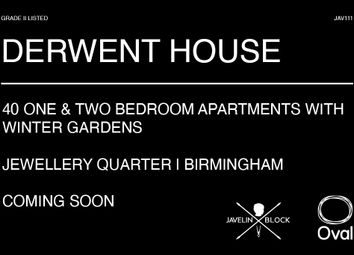 Derwent House, Mary Ann Street, Birmingham B3. 1 bed flat for sale