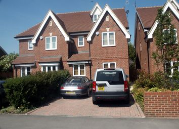 Thumbnail 4 bed flat to rent in Hatch Lane, Windsor