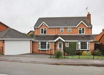 Thumbnail 4 bed detached house for sale in Foston Gate, Wigston, Leicester