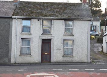 Thumbnail 3 bed end terrace house for sale in Graig Street, Newcastle Emlyn