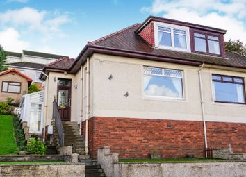 Thumbnail 2 bed semi-detached house for sale in Mt Pleasant, Port Glasgow