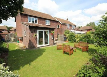 Thumbnail 4 bed detached house for sale in Moresby Close, Westlea, Swindon