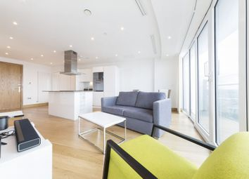 Thumbnail 1 bed flat to rent in Arena Tower, 25 Crossharbour Plaza, London
