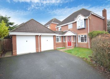 Thumbnail 4 bed detached house for sale in Lichfield Close, Priorslee, Telford