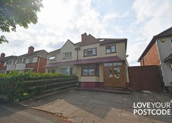 Thumbnail 4 bed semi-detached house for sale in Linchmere Road, Handsworth, Birmingham