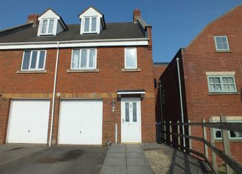 Thumbnail 3 bed town house to rent in Manley Close, Trowbridge, Wiltshire