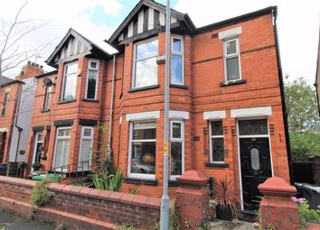 Thumbnail 4 bed semi-detached house for sale in Woodland Road, Burnage, Manchester