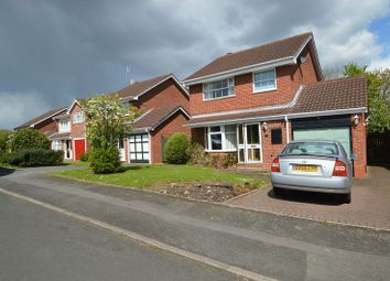 Thumbnail 4 bed detached house for sale in Rosehall Close, Redditch