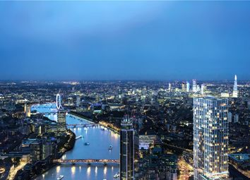 Thumbnail 2 bed flat for sale in Aykon London One, Nine Elms, London