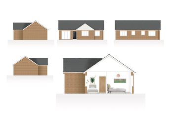 Thumbnail 3 bed detached bungalow for sale in Gallery Lane, Holymoorside, Chesterfield