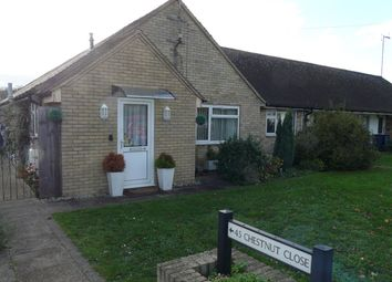 Thumbnail 2 bed bungalow for sale in Chestnut Close, Haslingfield, Cambridge