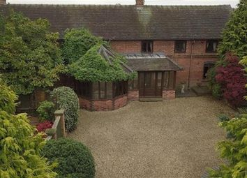 Thumbnail 4 bed barn conversion for sale in Cherry Tree Barn, Barthomley, Crewe, Cheshire