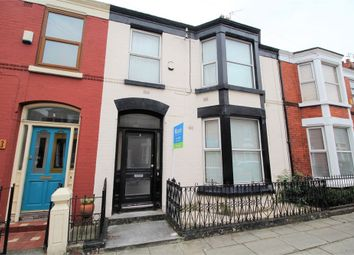Thumbnail 4 bed terraced house for sale in Ashbourne Road, Aigburth, Liverpool, Merseyside