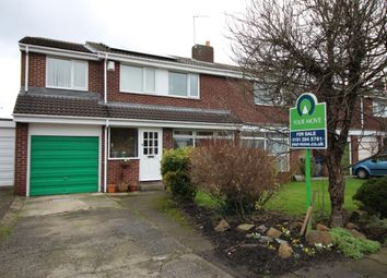 Thumbnail 4 bed semi-detached house for sale in Alnmouth Drive, Gosforth, Newcastle Upon Tyne