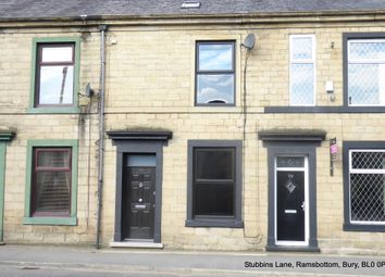 Thumbnail 3 bed terraced house to rent in Stubbins Lane, Ramsbottom