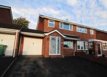 Thumbnail 3 bed semi-detached house for sale in Rangeways Road, Kingswinford, West Midlands
