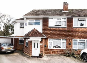 Thumbnail 3 bed semi-detached house for sale in Castleleigh Court, Enfield