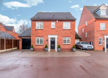 Thumbnail 4 bed detached house for sale in Fletcher Drive, Fradley, Lichfield