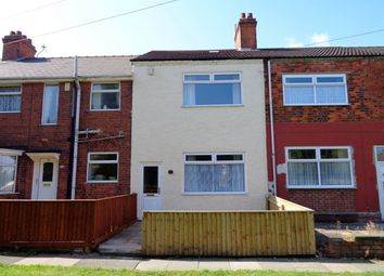 Thumbnail 3 bed terraced house to rent in Cromwell Avenue, Grimsby