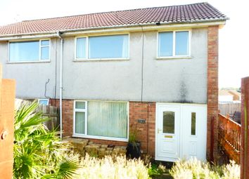 Thumbnail 3 bed semi-detached house for sale in Glenwood, Cardiff