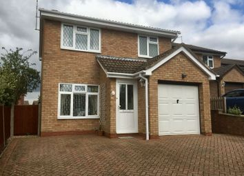 Thumbnail 3 bed detached house for sale in Somerville Road, Daventry