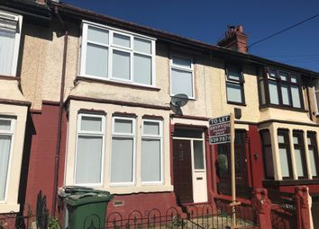 Thumbnail 3 bed terraced house to rent in Lindeth Avenue, Wallasey