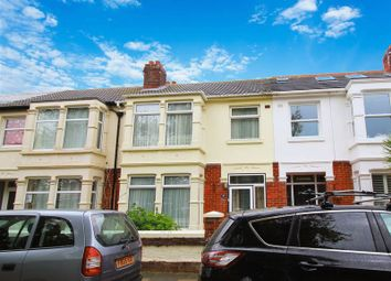 Thumbnail 3 bed terraced house for sale in Lakeside Avenue, Portsmouth