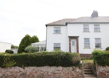 Thumbnail 4 bed semi-detached house for sale in School Road, Cumwhinton, Carlisle, Cumbria
