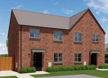 Thumbnail 3 bed semi-detached house for sale in Coventry Road, Sharnford, Leicester, Leicestershire