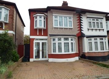 Thumbnail 3 bed semi-detached house for sale in Hainault, Ilford, Essex