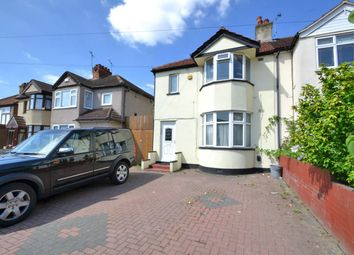 Thumbnail 3 bed semi-detached house for sale in Straight Road, Romford
