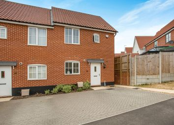 Thumbnail 2 bed semi-detached house for sale in Morris Road, Wickham Market, Woodbridge
