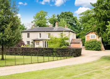 Thumbnail 8 bed country house for sale in The Street, Hepworth, Diss