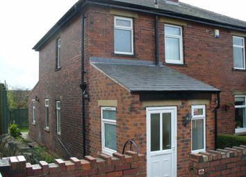 Thumbnail 2 bed semi-detached house to rent in Heath Road, Dewsbury