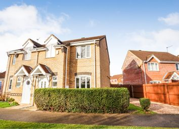 Thumbnail 3 bed semi-detached house for sale in Bath Road, Lincoln