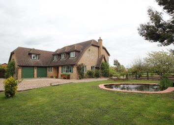Thumbnail 4 bedroom detached house for sale in Third Drove, Little Downham, Ely