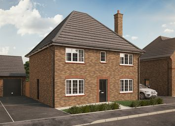 "Thumbnail 5 bed detached house for sale in ""The Marston"" at Park Crescent, Stewartby, Bedford"