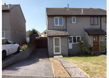 Thumbnail 3 bed semi-detached house for sale in School Close, St Columb Minor, Newquay