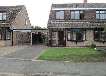 Thumbnail 3 bed semi-detached house to rent in Ullswater Road, Bedworth, Warwickshire