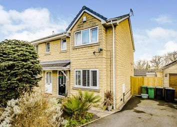 Thumbnail 3 bed semi-detached house for sale in Kilburn Close, Almondbury, Huddersfield, West Yorkshire