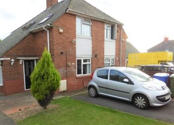 Thumbnail 2 bed semi-detached house for sale in Hobhouse Road, Mansfield