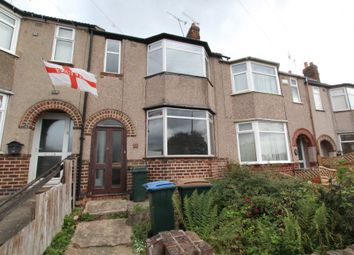 Thumbnail 2 bed terraced house for sale in Eltham Road, Coventry