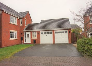 Thumbnail 4 bedroom detached house for sale in White Hollies, Walsall