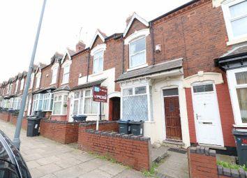 Thumbnail 3 bed terraced house for sale in Clarence Road, Handsworth