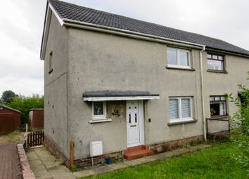 Thumbnail 2 bed semi-detached house for sale in Dykehead Road, Airdrie