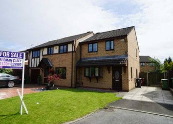 Thumbnail 3 bedroom semi-detached house for sale in Holly Mill Crescent, Bolton