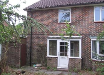 Thumbnail 4 bed semi-detached house for sale in Radstock Way, Merstham, Redhill, Surrey